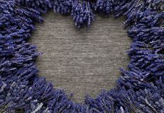 Lavender heart Royalty Free Stock Images