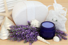Lavender Herb Accessories Stock Photo