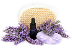 Lavender Herb Products Stock Photo