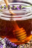 Lavender Herbal Honey royalty free stock image