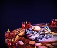 Lavender herbal spa Royalty Free Stock Photo