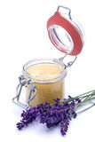 Lavender honey Royalty Free Stock Photos