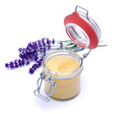 Lavender honey Royalty Free Stock Image