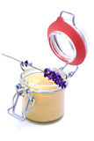 Lavender honey Stock Photos