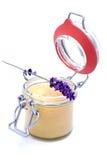 Lavender honey Stock Photos
