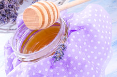 Lavender honey Royalty Free Stock Photography