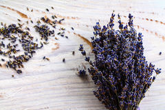 Lavender - lavender background. The violet wonder - aromatic plant Stock Image