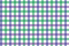 Lavender and Light Green Gingham pattern. Texture from rhombus/squares for - plaid, tablecloths, clothes, shirts, dresses, paper,. Bedding, blankets, quilts and vector illustration