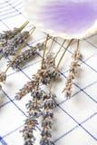 Lavender massage oil Royalty Free Stock Photo