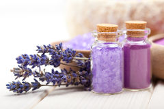 Lavender minerals Royalty Free Stock Photos