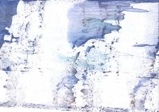 Lavender nebulous watercolor texture. Hand-drawn abstract watercolor texture. Used contrasting and transient colors Royalty Free Stock Photo