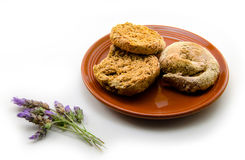 Lavender and ntakos Stock Images