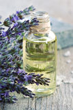 Lavender oil stock photos