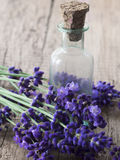 Lavender oil Royalty Free Stock Photos