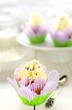Lavender Petal Low Fat Orange Muffins. Stock Image