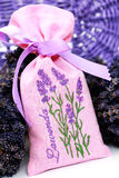 Lavender potpourri Royalty Free Stock Image