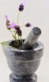 Lavender Preparation Royalty Free Stock Images