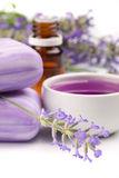 Lavender products Royalty Free Stock Photos