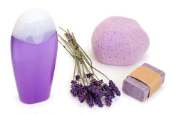 Lavender products Royalty Free Stock Photography