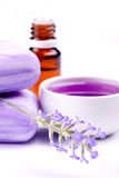 Lavender products Royalty Free Stock Images