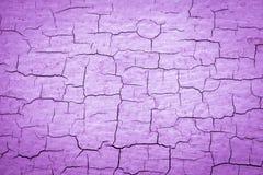 Purple Cracked Paint stock illustration