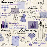 Lavender retro background Royalty Free Stock Photography