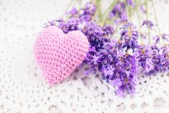 Lavender sachet Royalty Free Stock Photography
