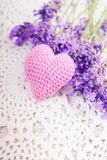 Lavender sachet Royalty Free Stock Images
