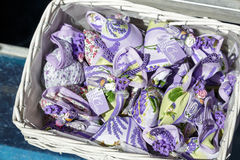 Lavender sachets royalty free stock photos