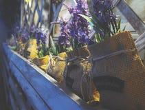 Lavender in sacks