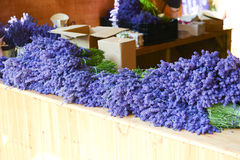 Lavender on Sale Stock Photography