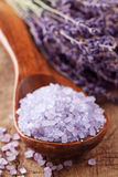 lavender salt sea spa Στοκ Εικόνες
