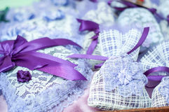 Lavender scented pouches Royalty Free Stock Image