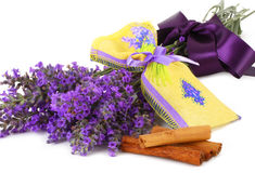 Lavender scented sachets Stock Images