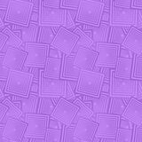 Lavender seamless background. Lavender color seamless square pattern background Royalty Free Stock Image