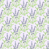 Lavender. Seamless pattern with flowers. Hand Stock Photos