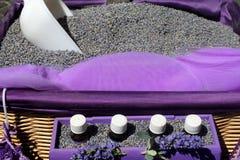 Lavender shop Stock Photos