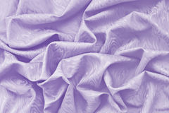 Lavender silk damask with wavy texture Stock Image