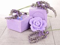 Free Lavender Soap Stock Image - 25701501