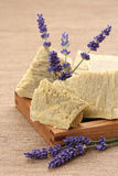 Lavender soap Royalty Free Stock Photos