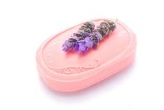 lavender soap Стоковые Изображения