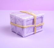 Lavender soap bar Royalty Free Stock Image