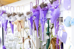 Lavender souvenirs. In Croatia, Rovinj stock images