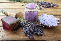Lavender SPA έννοια Στοκ Εικόνα