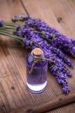 Lavender spa έννοια Στοκ φωτογραφία με δικαίωμα ελεύθερης χρήσης