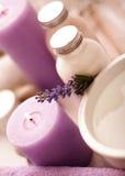 lavender spa Στοκ Φωτογραφίες