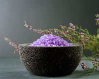 Lavender Spa Royalty Free Stock Photo