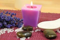 lavender spa Στοκ Εικόνα