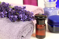 Lavender spa Royalty Free Stock Photo