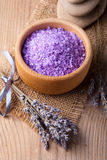 Lavender spa Stock Foto's